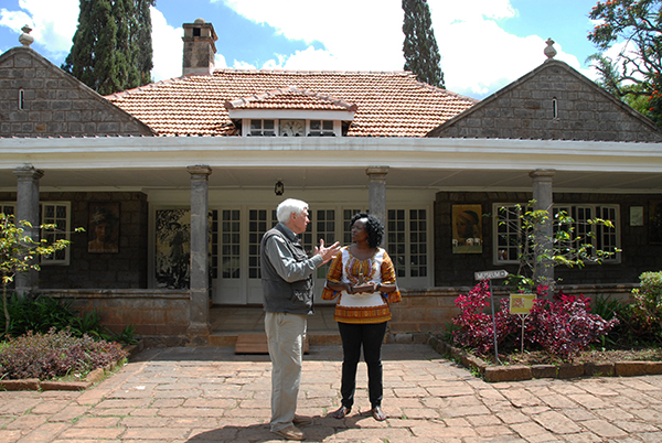 Larry Martin at Karen Blixen